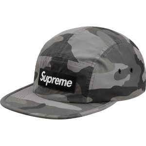 Supreme Reflective Camo Camp Cap - Snow