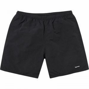 Supreme Nylon Water Shorts SS18 Black Small