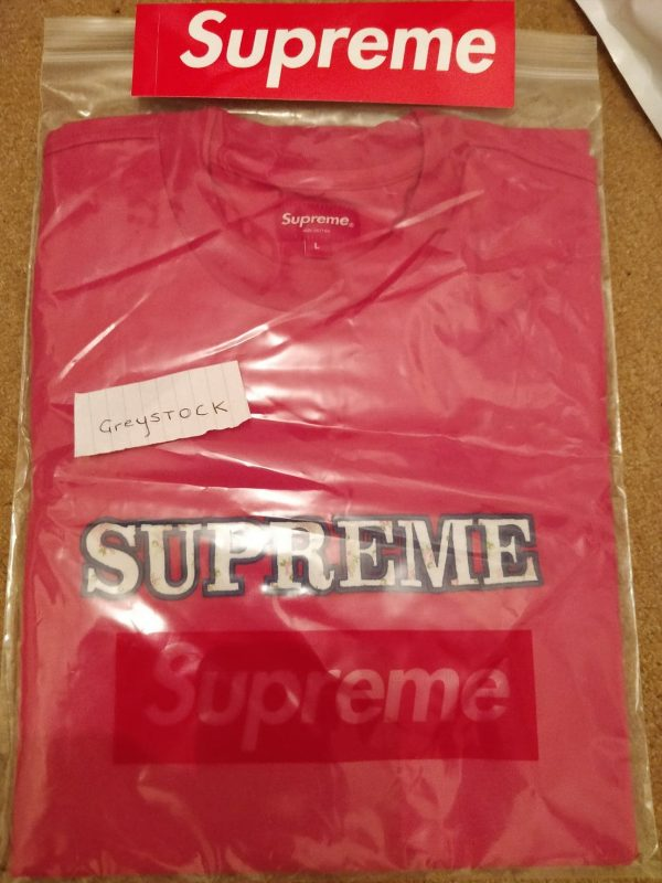 Supreme-Floral-Tee-Size-Large